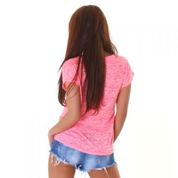T-shirt WJ-3750 - rosa
