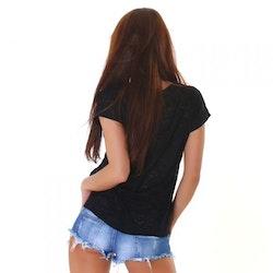 T-shirt WJ-3750 - svart