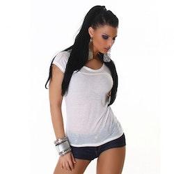 T-shirt Modell TS-239 - hvit