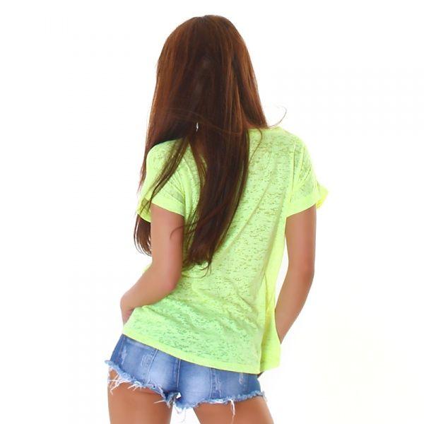 T-shirt WJ-3750 - gul