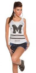 Topp Modell M - hvit