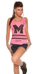 Topp Modell M - neonrosa