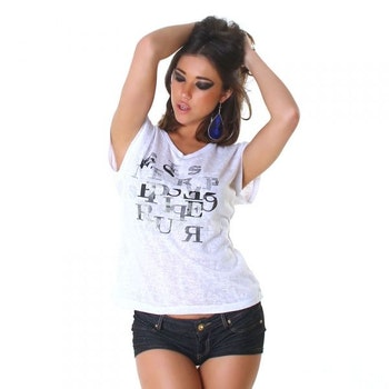 T-shirt WJ-3797 - hvit
