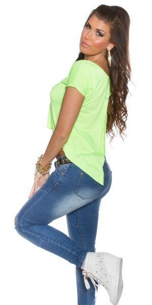 KouCla 2Way topp - neongrønn