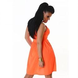 Kjole Modell 3145 - orange