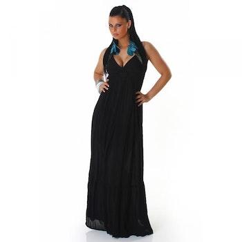 Lang flott kjole