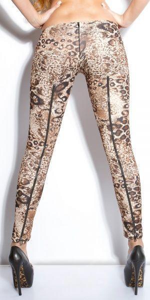 LowCut treggings - leopard