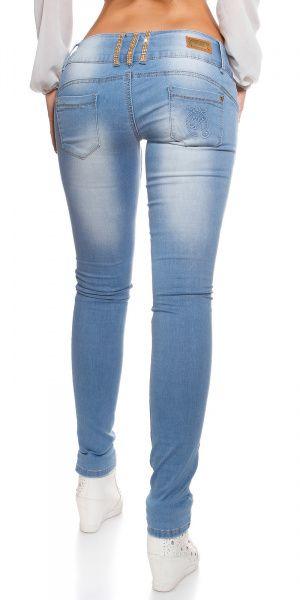 KouCla jeans destroyed-look