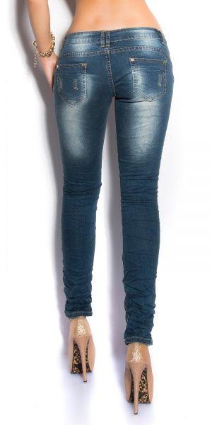 Tøff KouCla Used-Look Jeans