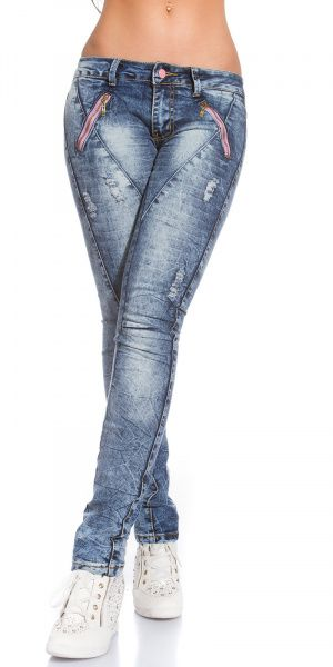 Skinny Jeans Used Look