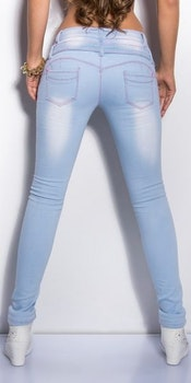 KouCla lightwash skinnyjeans