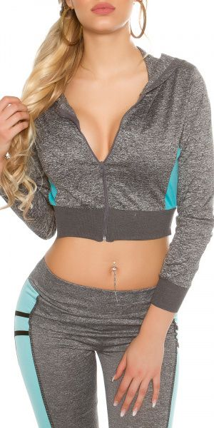 Workout Hoodie - mint