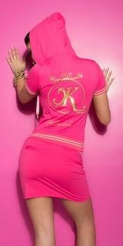 Sporty KouCla jakke - rosa