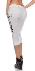 """Capri bukse """"Boss"""" - hvit"""