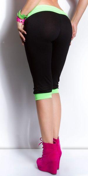 Koucla capri - svart/grønn
