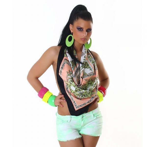 Shorts - grønn