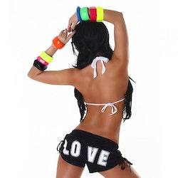 """""""Love"""" shorts - svart"""