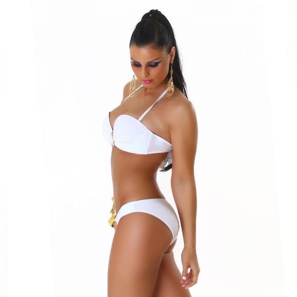 *FEILVARE* Bikini - hvit