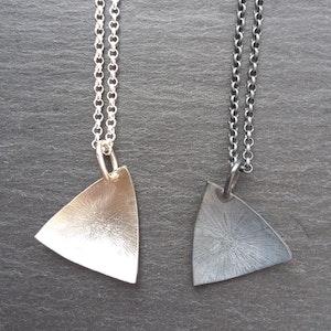 Silver/oxiderat silver halsband - Judit Emödi