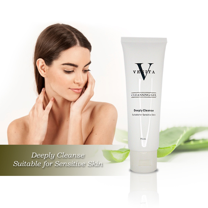 Venita Aloe - Vera Cleansing Gel Deeply Cleanse 75 ml.