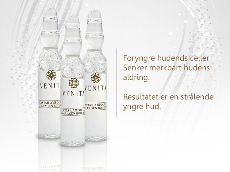 Venita Caviar Ampoules Collagen Booster 10x2 ml