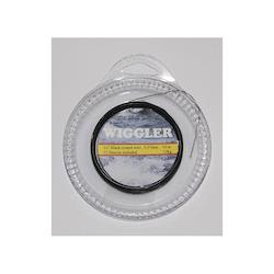 Wiggler Wire 10m plastbehandlad (12st lås ingår)