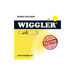 Wiggler Beteslås Double-Lock Snap (paket)