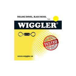 Wiggler Lekande Rolling Swivel (paket)