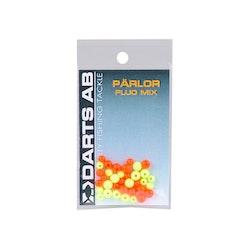 Darts Pärlor Fluo Mix (paket)