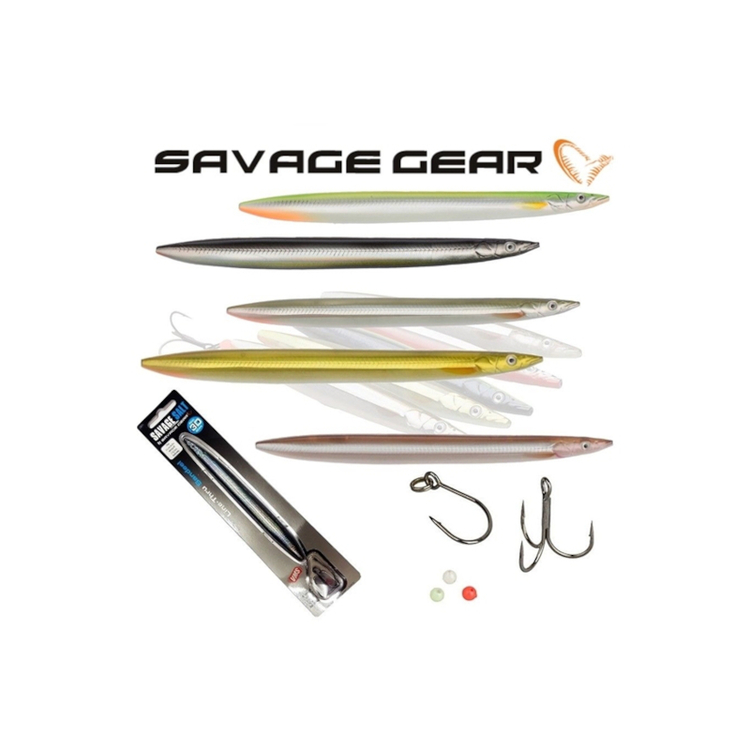 Savage Gear 3D Line-Thru Sandeel 125mm 19gr