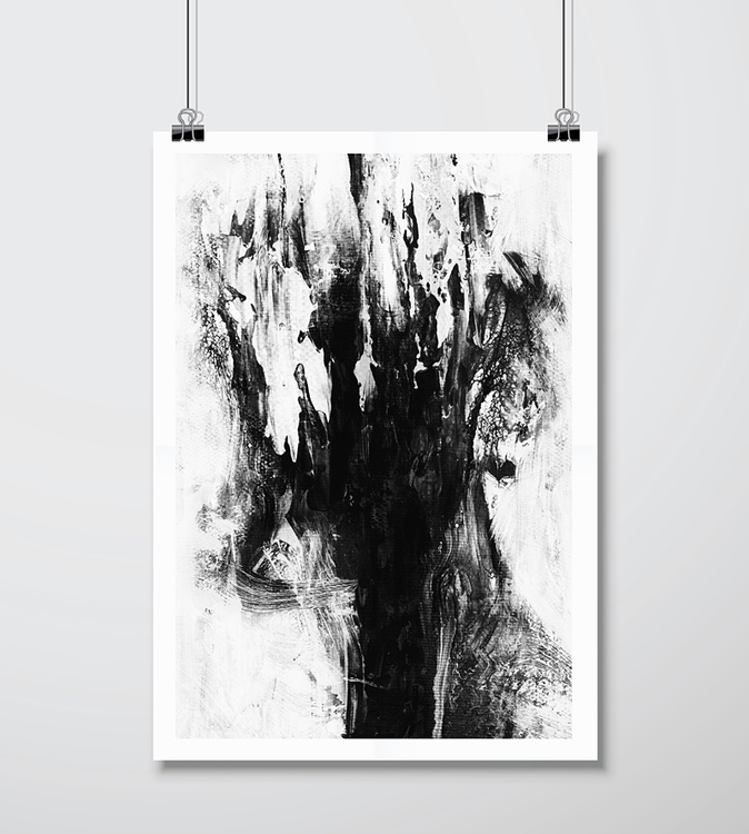 'A Late Conversation With Myself' Gicléetryck 42x59 cm