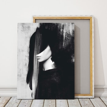 'Sleepless Days In A Third Quarter Storm' Canvas 50x70 cm