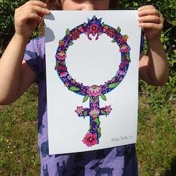 """Venussymbol """"Jenny"""" Prints"""