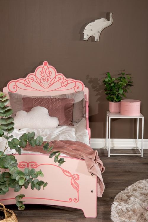 Barnsäng - Rosa krona