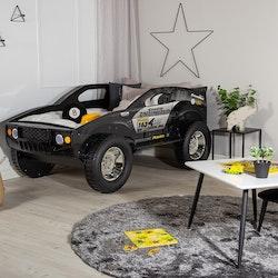 Barnsäng - Racerbil m. lampor