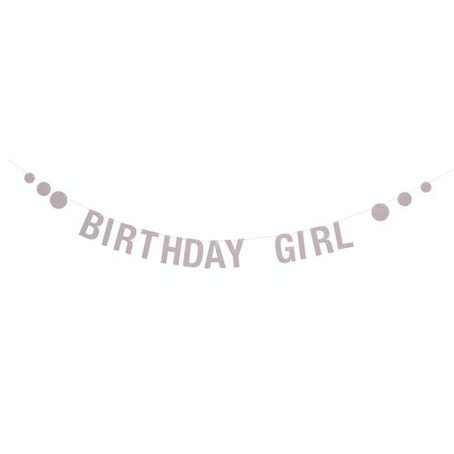"Bloomingville Girlang Rosa - ""Birthday girl"""
