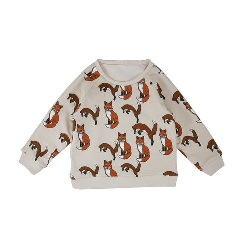 FILEMON KID - Reversible Sweatshirt Fox