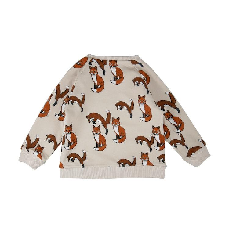 FILEMON KID - Reversible Sweatshirt Fox