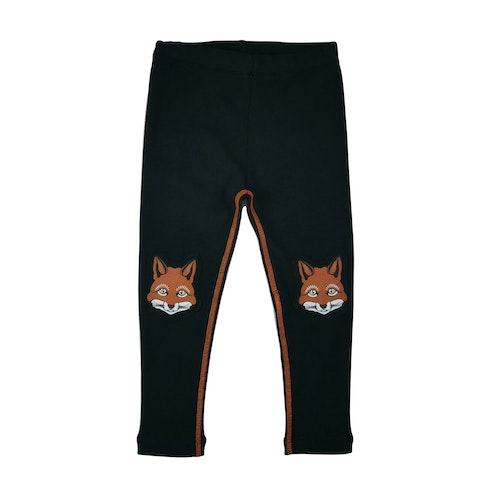 FILEMON KID - Leggings printed knees Fox