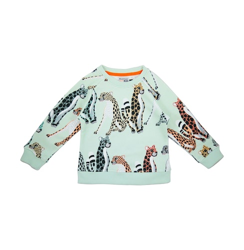 FILEMON KID - Sweatshirt Cheetahs AOP