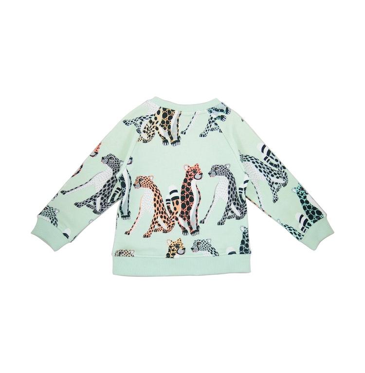 FILEMON KID - Sweatshirt Cheetahs AOP