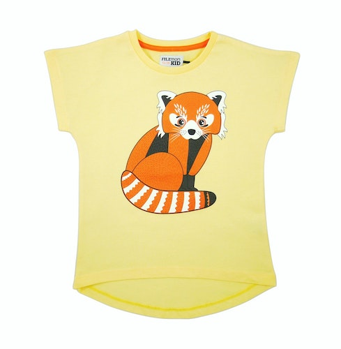 FILEMON KID - T-shirt Red Panda