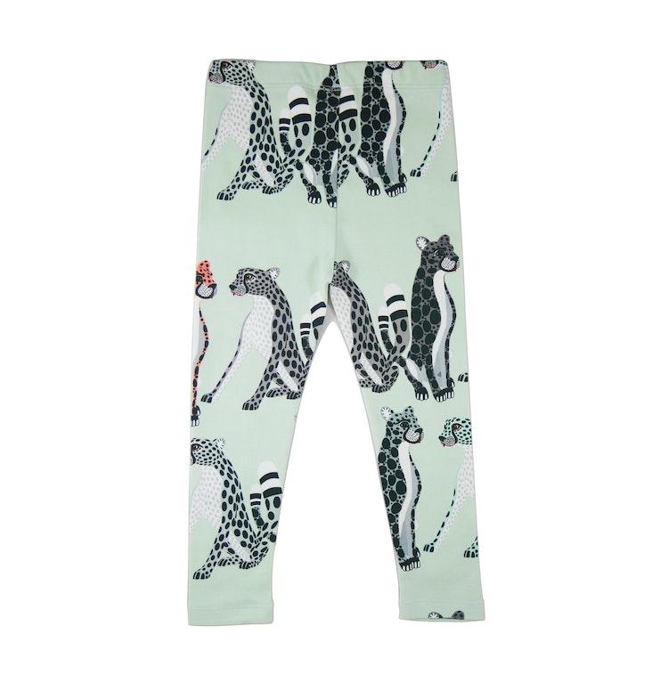 FILEMON KID - Leggings Cheetah AOP