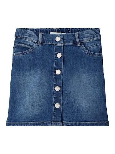 NAME IT - A-formad jeanskjol