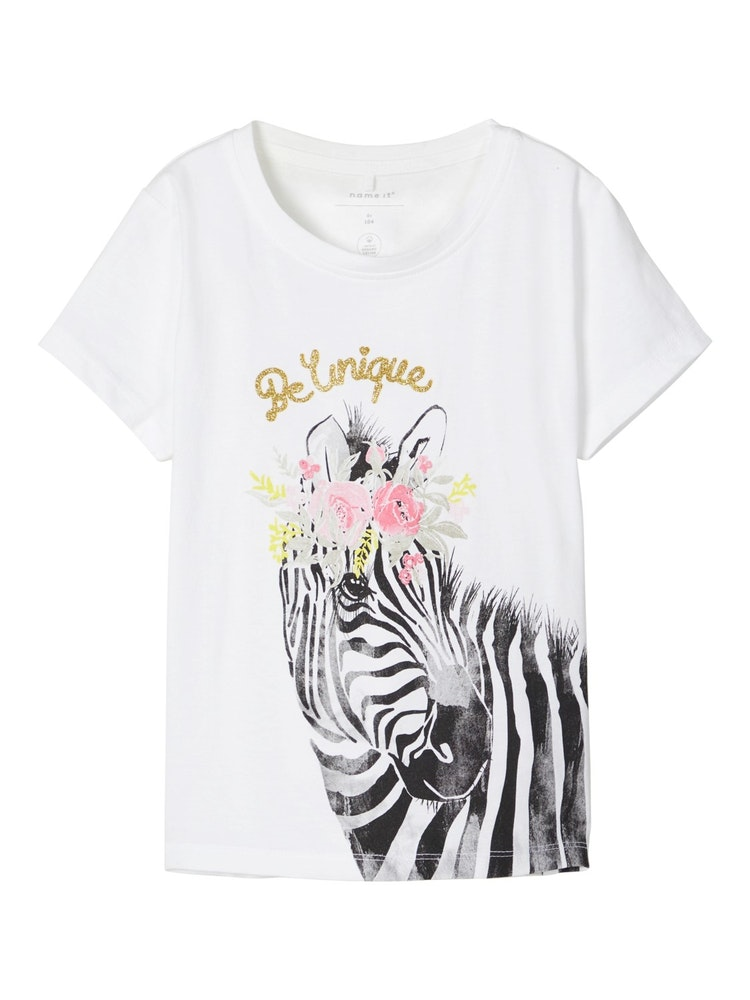 NAME IT - T-shirt zebra