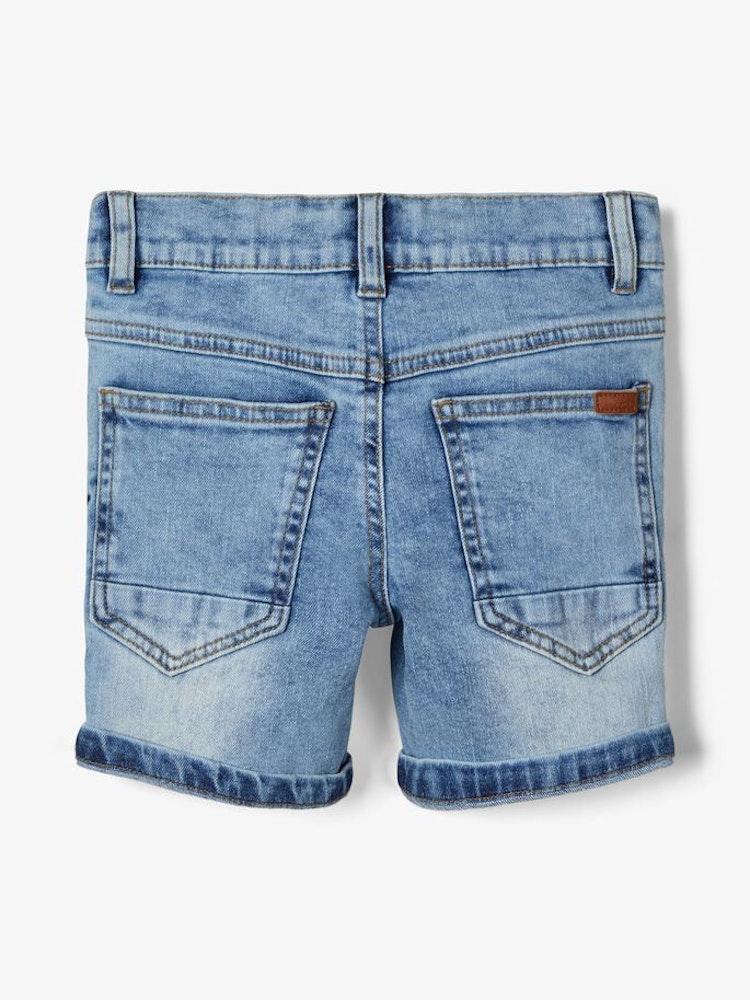 NAME IT - Ljusblå jeansshorts