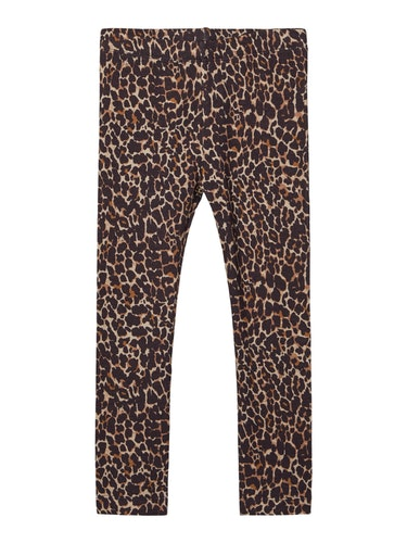 NAME IT - leopard leggings