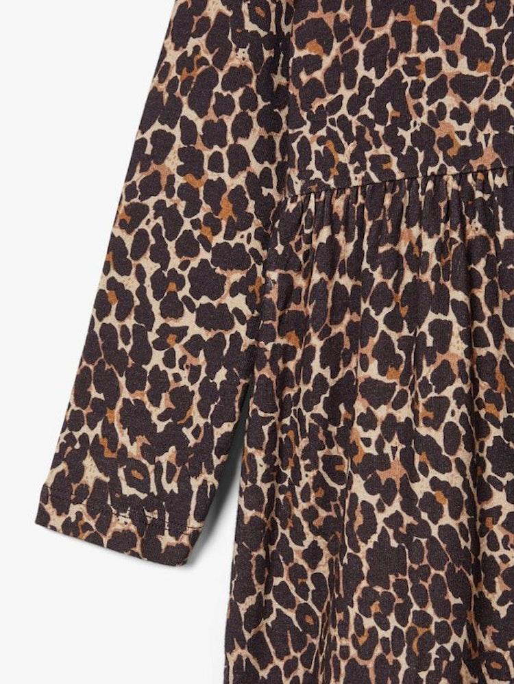 NAME IT - Leopard klänning