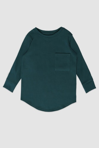 MINIKID - longsleeve bottle green