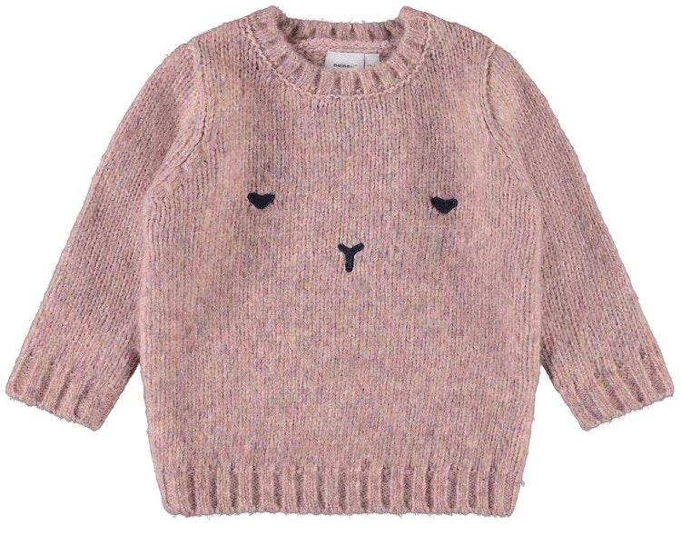 NAME IT - Stickad tröja mini